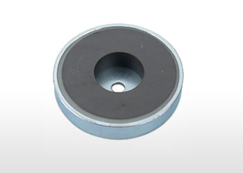 Cylindrical Hole Ferrite Pot Magnet
