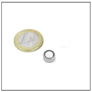 Neodymium Flat Pot Magnet Ø 8 X 4.7 mm