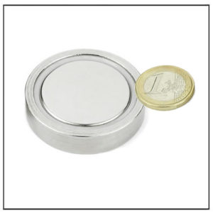 55mm Rare Earth Pot Magnet