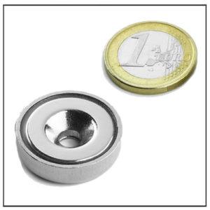 countersunk ndfeb magnetic pot