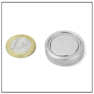 Flat Magnetic Lenses Ø 30 X 6.4 mm