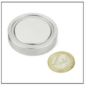 flat ndfeb cup magnet
