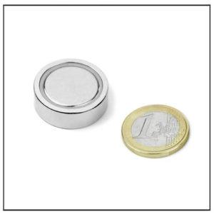 Flat Neodymium Gripper Ø 25 X 7.7 mm