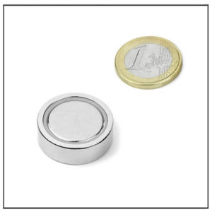 Glue-in Neodymium Pot Magnet