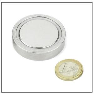 High Performance Pot Magnet Ø 50 X 10.7 mm
