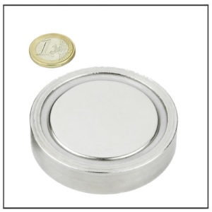 large neo flat magnetic pots