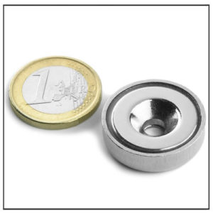 ndfeb countersunk magnetic pot