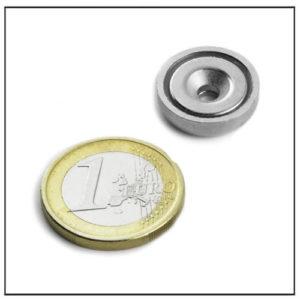 neodymium countersunk cup magnet