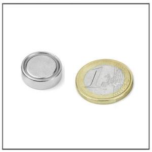 Neodymium Flat Cup Magnet Ø 16 X 5.3 mm