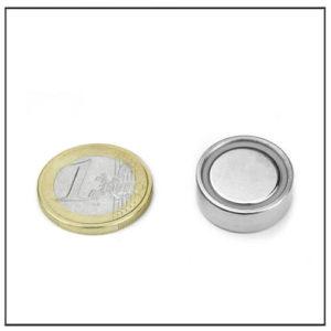 Neodymium Flat Cup Magnet Ø 20 X 7.2 mm