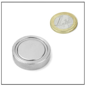 Neodymium Flat Magnetic Lenses Ø 32 X 7.8 mm