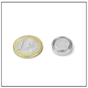 Neodymium Flat Mouting Magnet Ø 16 X 5.2 mm