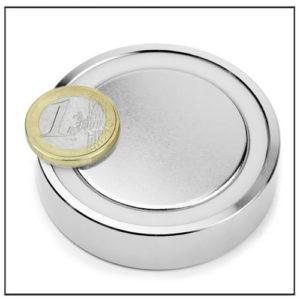 Neodymium Shallow Pot Magnet