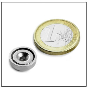 small countersunk mounting magnet