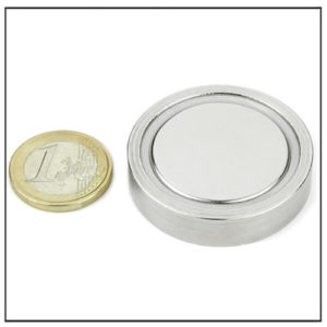 strong neodymium pot flat magnet