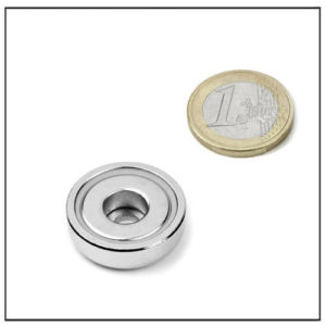 25mm Neodymium Pot Magnet