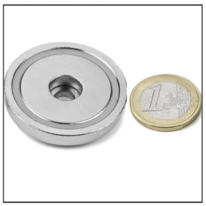 40mm Cylindrical Hole Holding Magnet