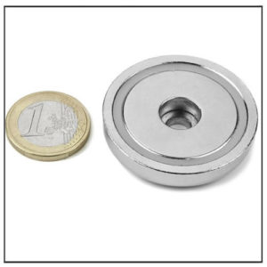 42mm Sintered NdFeB Pot Magnet