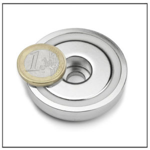 48mm Sintered NdFeB Pot Magnet