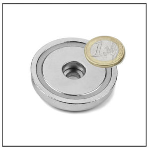 50mm Shallow Neodymium Pot Magnet