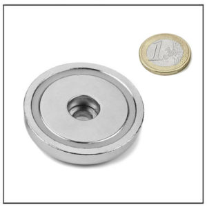55mm Borehole Pot Magnet