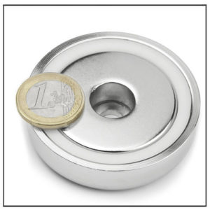 60mm Rare Earth Pot Magnet