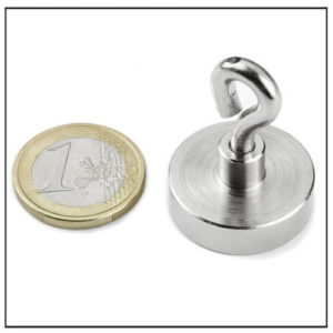 Eyebolt Pot Magnet Ø25mm