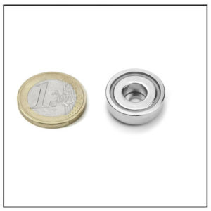 Sintered Neodymium Pot Magnet
