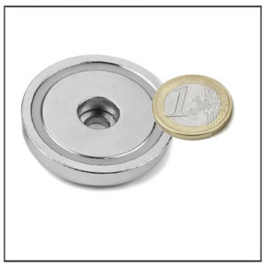 Through Hole Neodymium Pot Magnet