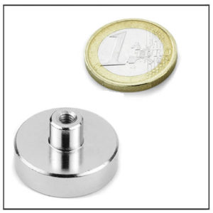 Female Threaded Stud Pot NdFeB Magnet
