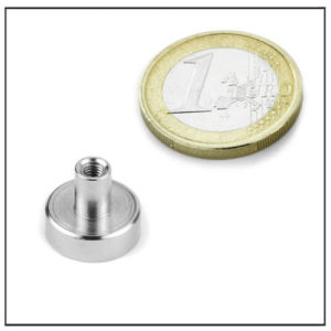 Holding Pot Magnet with Internal Threaded Ø14 mm