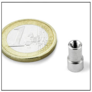 Internal Thread Neodymium Pot Magnet Ø6 mm