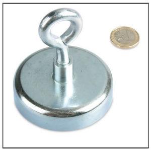 Large Rare Earth Pot Magnets