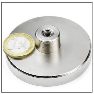 NdFeB Heavy Duty Pot Magnet Ø65 mm