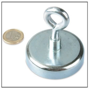 Neodymium Holding Eyebolt Magnets Ø60 mm