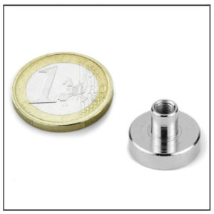 Neodymium Holding Magnet with Internal Threaded Ø16 mm
