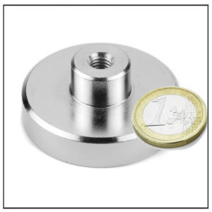 Neodymium Internal Thread Magnet Ø48 mm