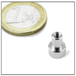 Small Internal Thread NdFeB Pot Magnet Ø8 mm
