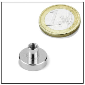 Stud Neodymium Pot Magnets Ø16 mm