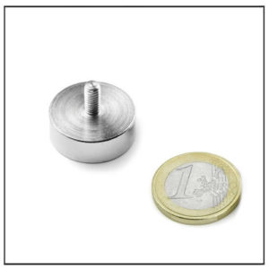 20mm Male Thread Neodymium Pot Magnet