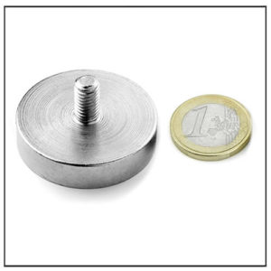 38mm Outside Thread Ndfeb Pot Magnet
