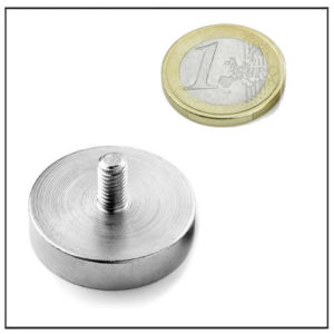 External Screw Thread Mounting Magnet Ø30 mm