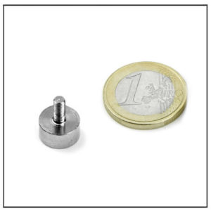 External Screw Thread Pot Magnet Ø12 mm
