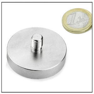 External Thread Mounting Magnet Supplier Ø48 mm
