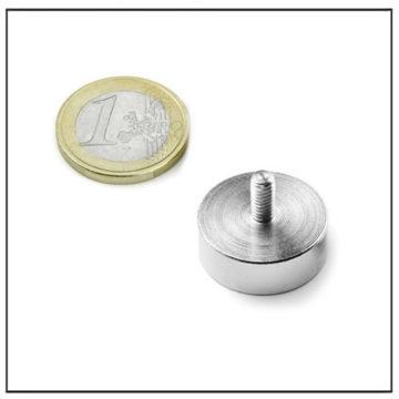 External Threaded Pot NdFeB Magnet Ø22 mm