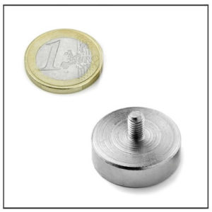 Male Thread Cup Magnet Ø28 mm