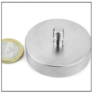 Mounting Magnet with Male Thread Ø48 mm