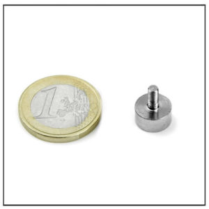 NdFeB External Threaded Mounting Magnets Ø10 mm