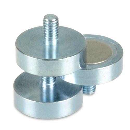 NdFeB Threaded Stud Pot Magnets