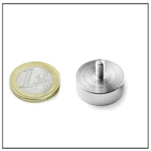 Neodymium Male Stud Pot Magnet Ø20 mm